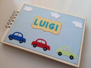 """Mini album nascita """"Luigi"""""""