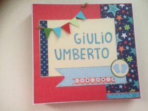"""Album nascita """"Giulio Umberto"""""""